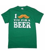 "DELTA PRO WEIGHT I ""MUST-ASK"" YOU FOR A BEER! MEN'S 2XL GREEN COTTON T-S... - $7.67"