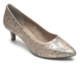 Womens Rockport Total Motion Kalila Pump - Pink/Silver Snake [CH4963] - $74.99