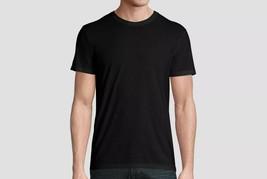 Hanes Black Label Men's Large Super Soft Stretch Anti-Odor Crew Neck T-Shirt - £12.43 GBP