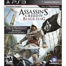 Assassin's Creed IV Black Flag PlayStation 3 PS3 - $6.81