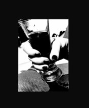 DRINK The Bordighera Details Helmut Newton Early 1980s Rich Black and Wh... - $37.90