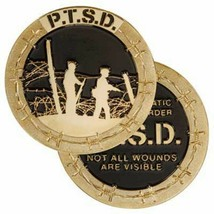 PTSD POST TRAUMATIC STRESS DISORDER NOT ALL WOUNDS ARE VISIBLE CHALLENGE... - $17.14