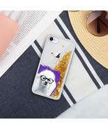 Smart Poodle Dog Liquid Gold Glitter iPhone Case (various models) - $23.95