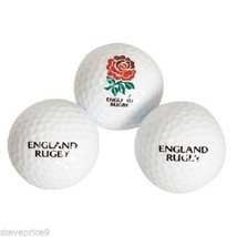 A DOZEN 12 ENGLAND RUGBY UNION CRESTED GOLF BALLS.  - $22.61