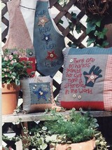 Make a Wish 3 Designs Sisters and Best Friends Cross Stitch Pattern Leaflet - $3.57
