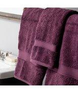 Plum Superior 900 GSM 100% Cotton 2 Bath Towels, 2 Hand Towels, 2 Washcl... - $69.95