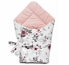 BABY SWADDLE WRAP SLEEPING BAG BLANKET COTTON HANDMADE NEWBORN INFANT PI... - $72.54