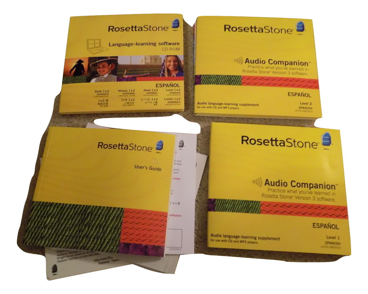 Primary image for Rosetta Stone Language Learning Software Espanol Spanish Levels 1 & 2 CD Rom