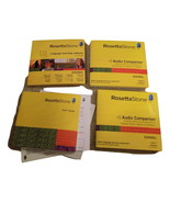 Rosetta Stone Language Learning Software Espanol Spanish Levels 1 & 2 CD Rom - $39.99