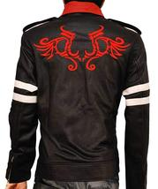 Men's Prototype Alex Mercer Dragon Costume Black Jacket image 3