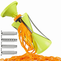 wonderoad 4-Blade Slicer Grater Vegetable Peeler Spiralizer - €14,00 EUR