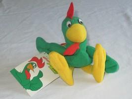 "Kelloggs Cornelius Rooster Corny 8"" Bean Bag Breakfast Bunch Advertising '97 Vtg - $14.24"