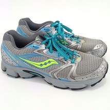 SAUCONY Womens 10 Shoes Running Athletic Grid Cohesion 5 Cross Training Gray - $18.49
