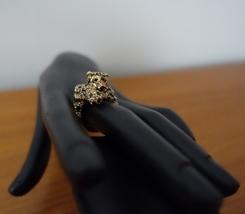Kate Spade Ny Gold Plated Run Wild Cheetah Ring. SIZE:7 New - $46.99