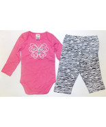 Fisher-Price Infant Girls 2 Piece Bodysuit & Pa... - $8.59