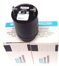 LOT OF 2 NIB MALLORY SC628AP SONALERT ELECTRONIC SIGNAL 6-28 VAC/VDC, 2900 HZ image 2