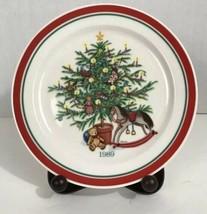 "Vintage Hallmark Nostalgic Christmas Series Plate ""Trees of Christmas"" 1... - $12.59"