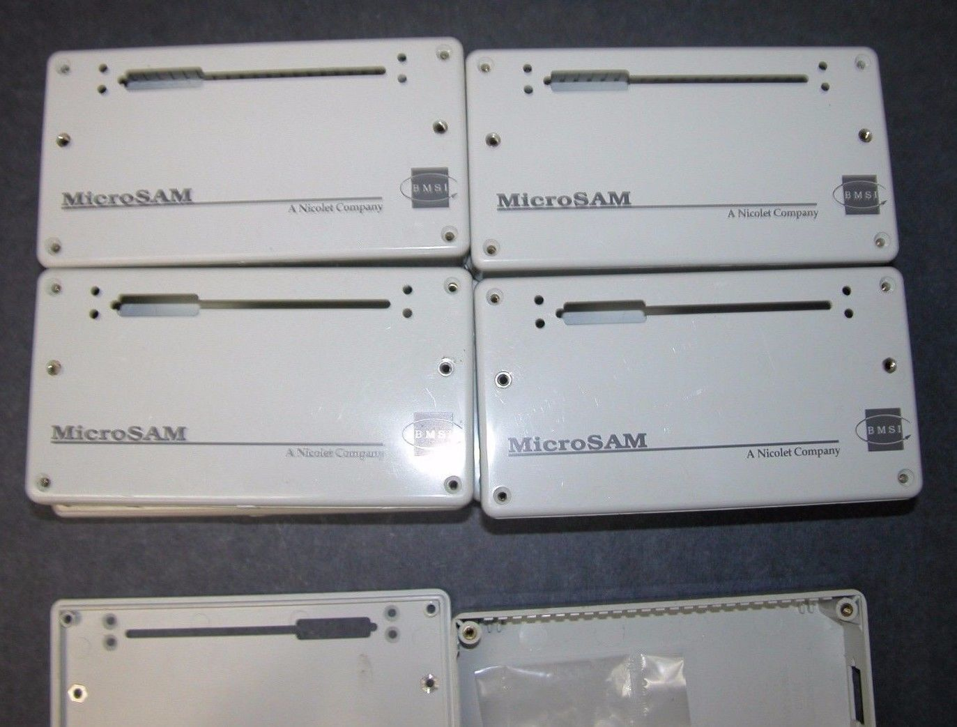 Lot 9 BMSI Nicolet MicroSAM EEG Enclosures, Unused
