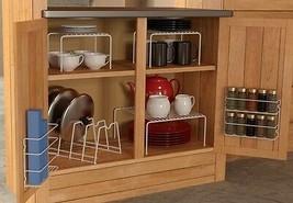 6 Piece Cabinet Organizer Set,Storage,Door,Floor,Shelves,Kitche,Drawer,F... - €36,20 EUR