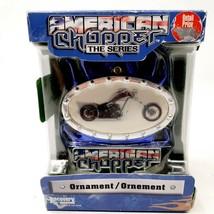 2005 American Chopper The Series Christmas Tree Ornament Holographic Mot... - $9.99