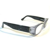 Fendi Clear Purple Black Monogram Cold Insert Oval Eyeglass Frames F844 036 130 - $74.80