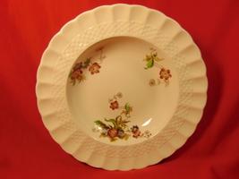 """7 3/4"""" Rimmed Soup Bowl,   Copeland-Spode, Wicker Lane, Basket Weave Pattern. - $29.99"""