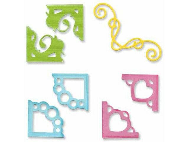 Sizzix Sizzlits Decorative Corners Die Set #655630