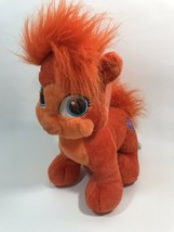 Build A Bear Workshop BAB Disney Palace Princess Ariel Orange Pet Cat Plush - $9.88
