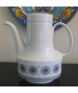 "ROSENTHAL TAPIO WIRKKALA ICE BLOSSOM 1960S COFFEE POT 8 1/8"" HIGH 6 CUPS - $79.00"