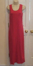 new in pkg Newport News  hot pink  beach cover up long  casual dress size  small - $21.77
