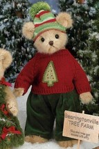 "Bearington Bears ""Bruce Spruce"" 14"" Plush Bear- #173150 - New- 2011 - $39.99"