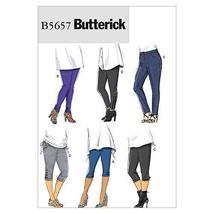 Butterick Patterns B5657 Women's Leggings, Size Hh (22W-24W-26W-28W) - $21.56