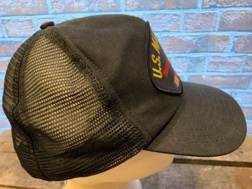United States MARINE CORPS Vietnam Patch Made in USA Snapback Adult Cap Hat image 4