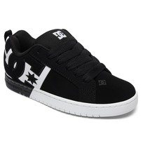 MENS DC COURT GRAFFIK SQ SKATEBOARDING SHOES NIB BLACK WHITE BLACK      ... - $62.99