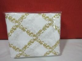 Hotel Collection  Egyptian Cotton 4-Pc. White/Gold King Sheet Set - $131.66