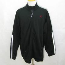 AIR JORDAN FLIGHT Mens Black Long Sleeve NIKE Track Jacket (Size XXL, 2X... - $27.50