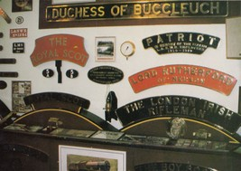 Sir Walter Raleigh Train Pressure Guage Museum Exhibit Postcard - $6.99