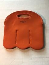 Built NY Orange 6 Bottle Insulated Cool Carrier Neoprene 6 Pack Bring Wa... - ₨763.14 INR