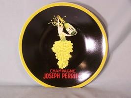 "Champagne Joseph Perrier Sakura Vintage Posters plate approx. 8.2"" diameter - $11.57"