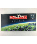 Planet Earth Monopoly Board Game 100% Complete Metal Animal Figures Edition - $18.70