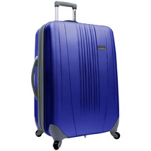"Traveler's Choice Blue Toronto 25"" Hardside Luggage Expandable Spinner S... - $79.19"