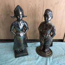 Vintage Dutch Boy And Girl Companion Set - $115.43
