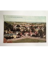 "VINTAGE POSTCARD BIRD""S EYE VIEW SANTA CRUZ CALIFORNIA F52 - $11.63"