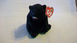 Cinders the Bear Ty Beanie Baby DOB April 20, 2000 - $6.92