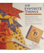 My Favorite Things Memory Book Kit NEW - $17.81