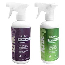 Defunkify Natural Shoe Deodorizer Spray, Instant Odor Eliminator for Smelly Feet