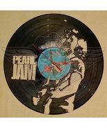 DIY Pearl JAM 2 Decorative Designed Modern Vinyl Record Wall Clock Silen... - $28.74