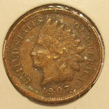 1907 Indian Head Penny F12 FULL LIBERTY #0320 - $3.99