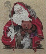 "Lavender and Lace ""Santa of the Forest"" Complete Materials with Linen - $54.44"