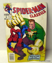 SpiderMan Comic Book Classics Sinister is the Sandman August 1993 - $4.46